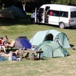 Rotorua Accommodation Gallery - Spacious tents sites