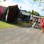 Rotorua Accommodation Gallery -spacious camping areas