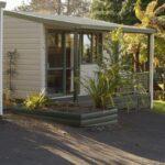 Rotorua Accommodation Gallery - Kitchen Cabin Exterior
