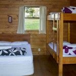 Rotorua Accommodation Gallery - Interior Standard Log Cabin