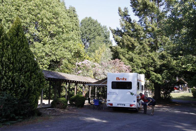Rotorua Accommodation Gallery - Powered sites