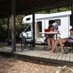 Rotorua Accommodation Gallery - Powered camper sites undercover