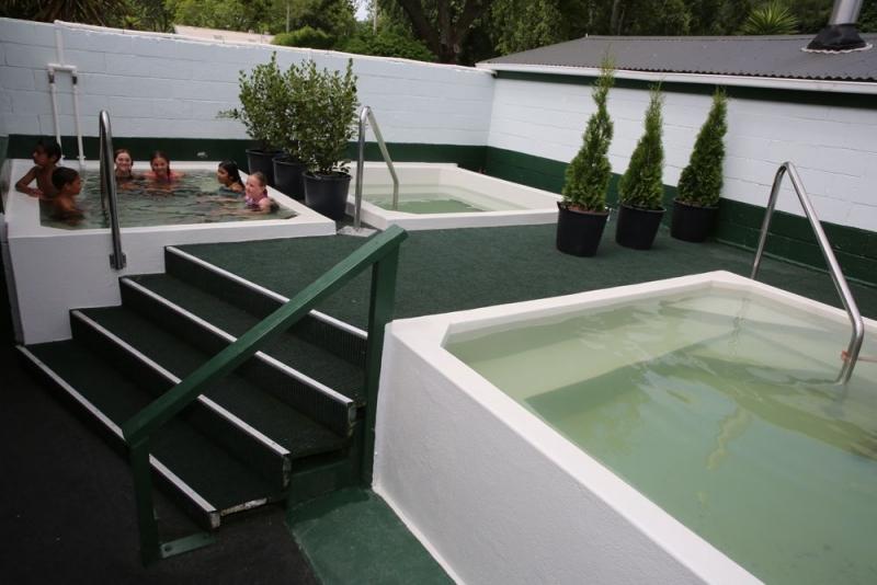 Rotorua Accommodation Gallery - Refurbished Hot Pools