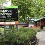 Rotorua Accommodation Gallery - Entrance
